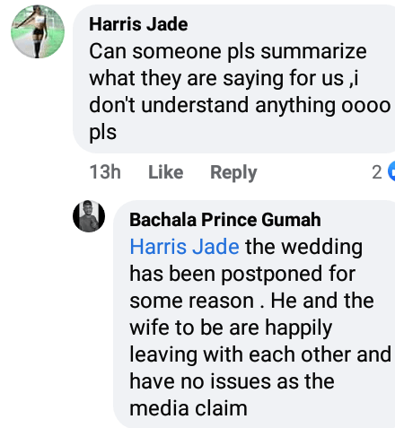 Ghanaian man who announced cancellation of his wedding debunks report he caught wife-to-be having sex with her ex-boyfriend