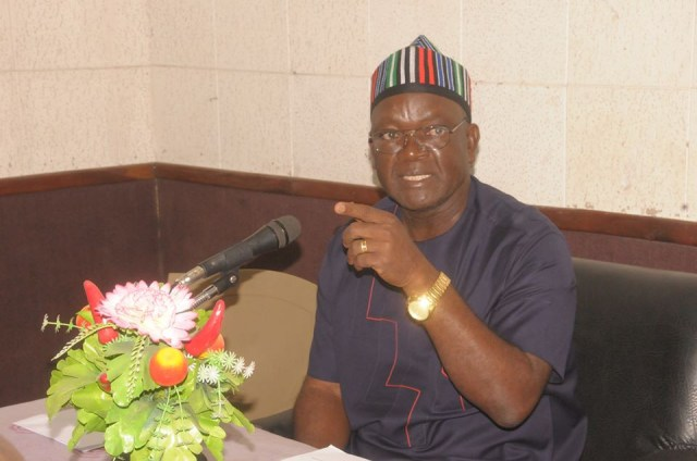 Defend yourselves with dane guns and weapons not prohibited by law - Governor Ortom tells Benue residents