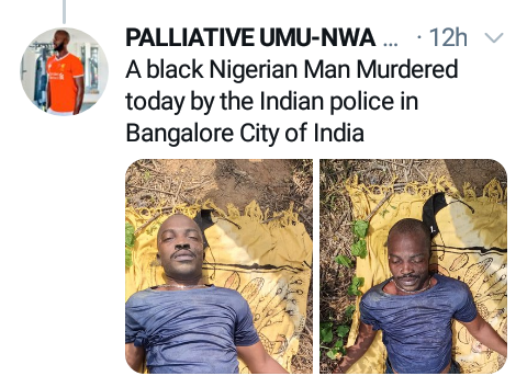 Nigerian man dies after alleged assault by police in India