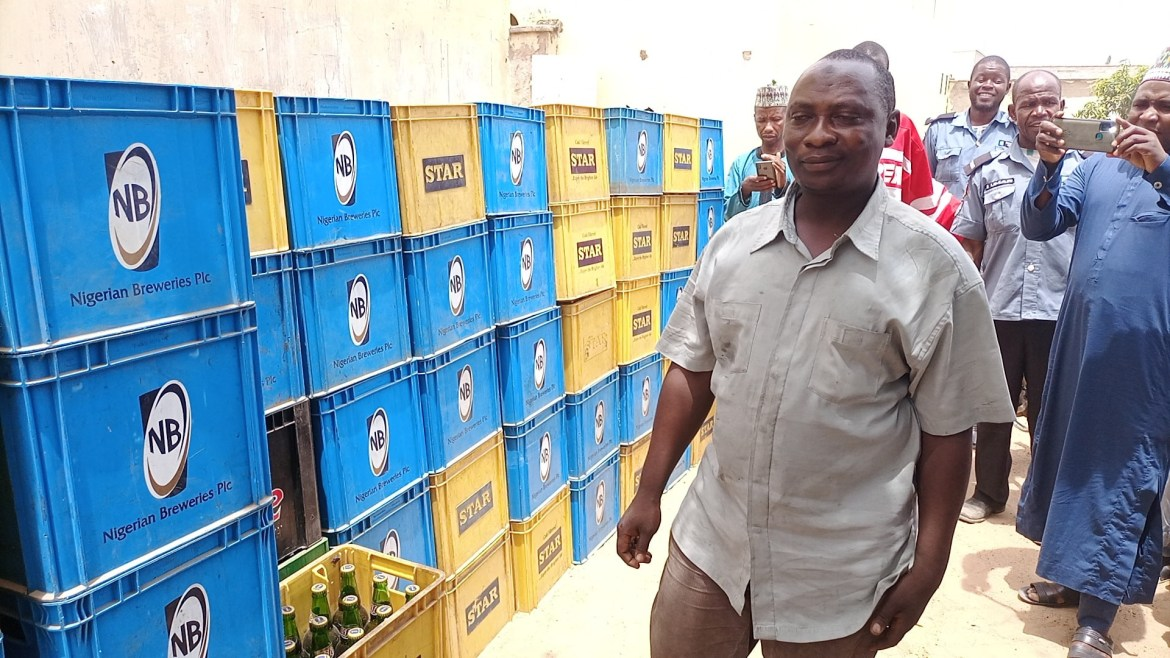 Kano Hisbah confiscates 8,400 bottles of beers (photos)