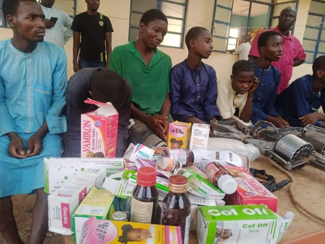 25 year old man who allegedly provides medical services to armed bandits arrested in Katsina