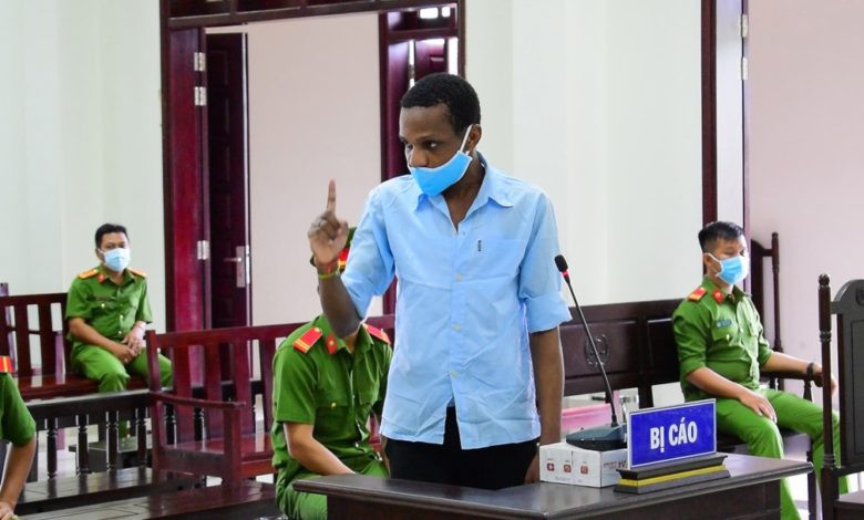 23-year-old Nigerian man sentenced to death for drug trafficking in Vietnam