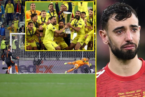 Villarreal crowned Europa League Champions after beating Manchester United 11-10 in tense penalty shootout