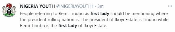 Nigerians react to viral video of Senator Remi Tinubu allegedly calling a woman a thug