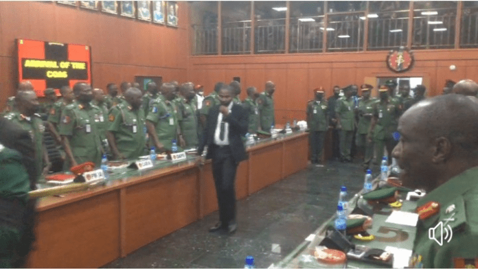 New Chief of Army Staff, Maj. Gen. Farouk Yahaya, assumes office (photos)