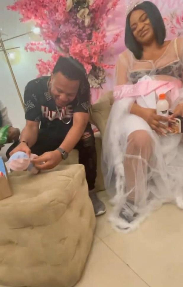 Friends throw actress Uche Ogbodo a surprise baby shower (photos/videos)
