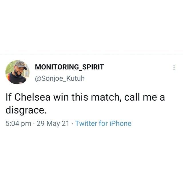 Chelsea fans drag Twitter user who said he should be called a