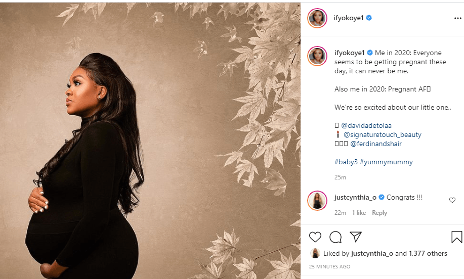 Jude Okoye and wife, Ify welcome their third child