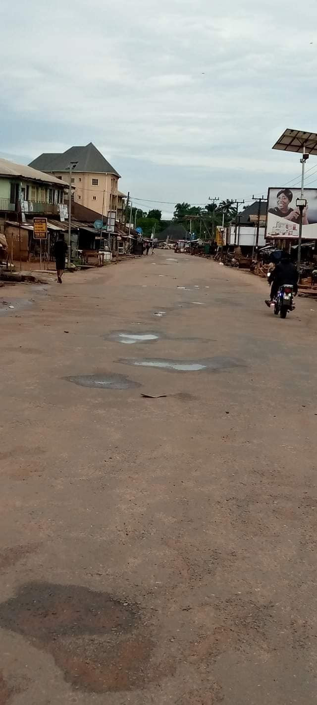 Residents obey IPOB sit-at-home order in South East states (photos)