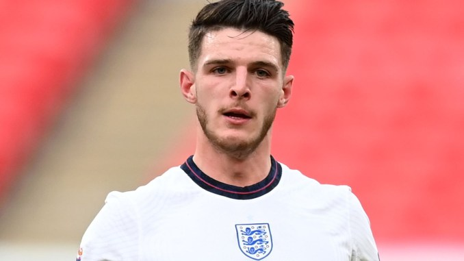 England star Declan Rice vows to drink his first-ever beer if his country win Euro 2020