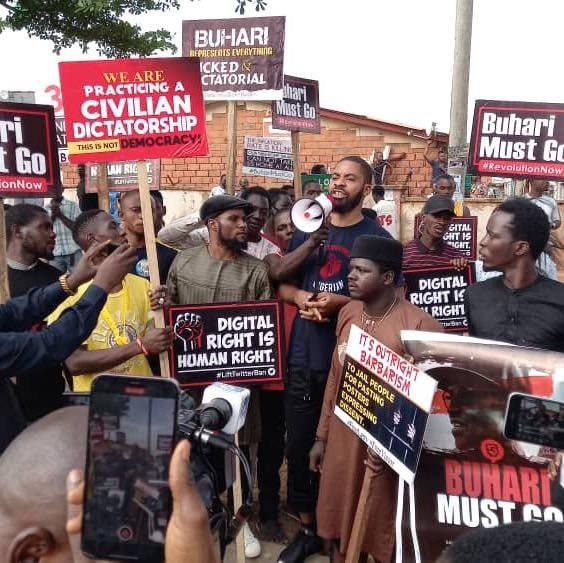 Photos of June 12 protesters in Abuja