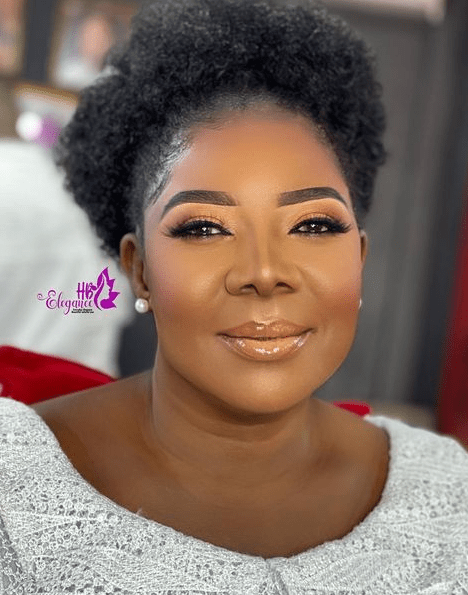 Check out the makeup transformation of a 75-year-old Ghanaian woman