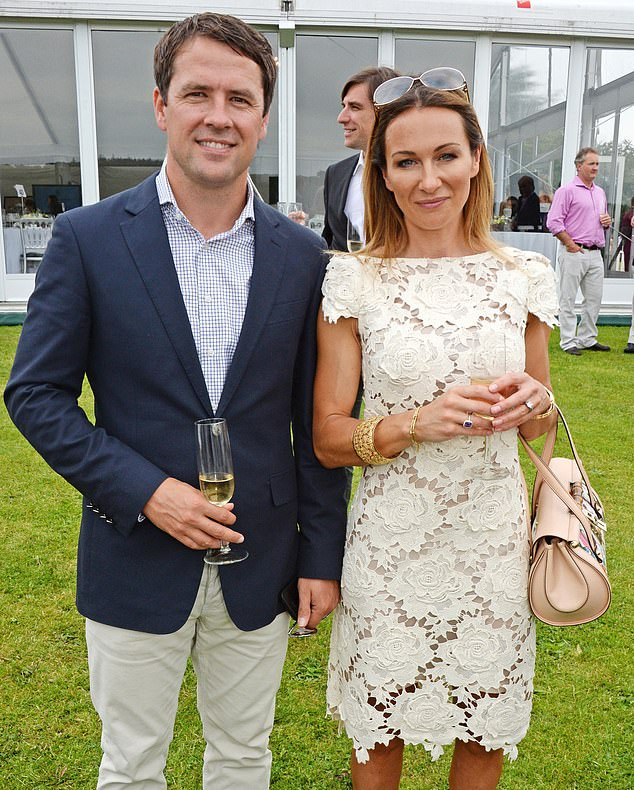 Married footballer Michael Owen allegedly begged reality star, Rebecca Jane, for 20 topless photos and told her 'leave nothing to the imagination''