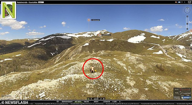 Weather camera exposes couple having s3x on a 6,500ft mountain (photos)