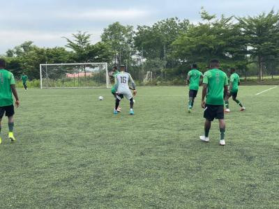 Home-based Super Eagles players commence preparation for Mexico frendly (photos)
