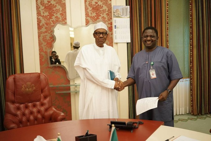 The president has nothing to do with proposed amendment of press council bill - Femi Adesina