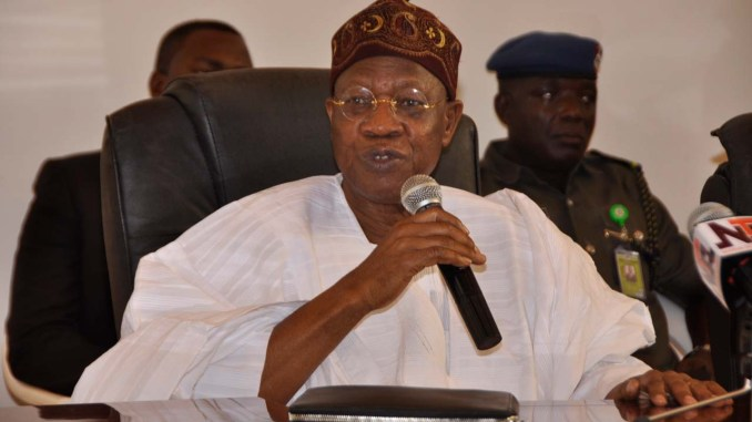 If you think you?re hurting me by using VPN you?re hurting yourself - Lai Mohammed
