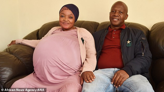 South African woman who said she had given birth to a world record-breaking ten babies, fabricated the pregnancy, officials confirm