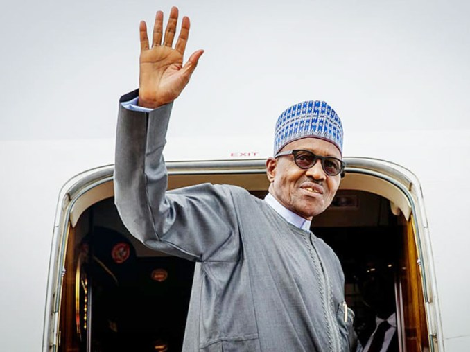President Buhari jets out to London for medical appointment