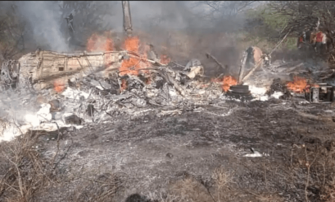 17 soldiers killed in helicopter crash in Kenya