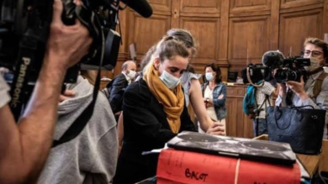 Frenchwoman who killed abusive husband reportedly faints in disbelief during court after hearing she could walk free