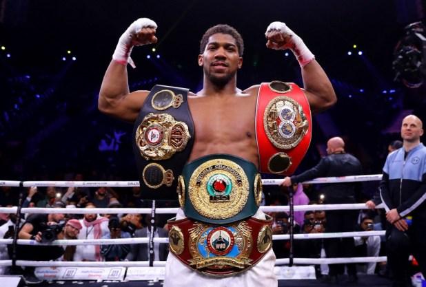 Anthony Joshua makes prediction for Tyson Fury vs Deontay Wilder 3