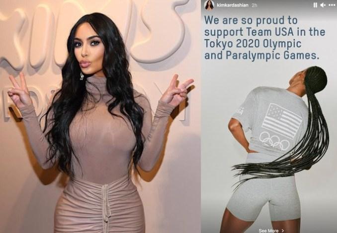 Kim Kardashian?s Skims made Team USA?s official loungewear for Tokyo Olympics