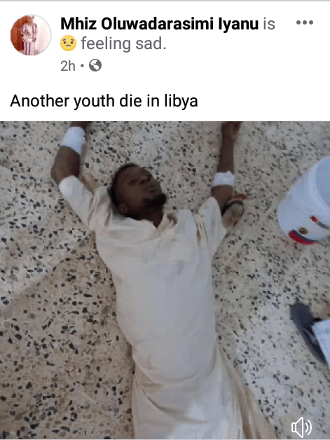 """""""Our brothers and sisters are dying everyday"""" - Fear grips Nigerians in Libya over"""