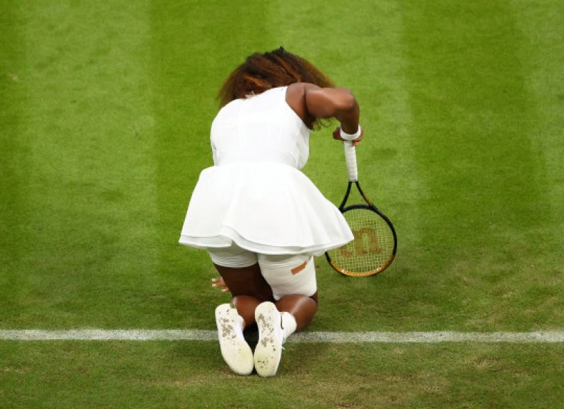 Tearful Serena Williams makes early exit from Wimbledon with injury (photos)
