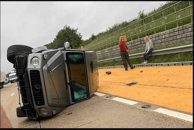 Arsenal star, Ainsley Maitland-Niles involved in serious traffic accident as his ?105,000 Mercedes overturns on motorway