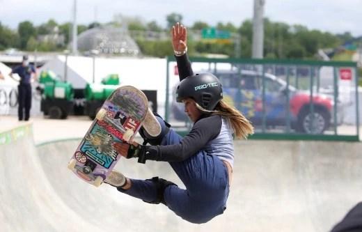 Skateboarder Sky Brown to be UK