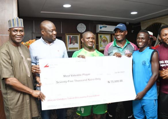Noah Dallaji Legacy Project Football Talent Hunt Lived Up To Billing...How Lua Lua, Fadiga, Appiah, Okocha, Nwankwo, Amokachi, Eguavoen, Babayaro, Peter Okoye, Dakolo, Waje, others stormed Bauchi?(photos)
