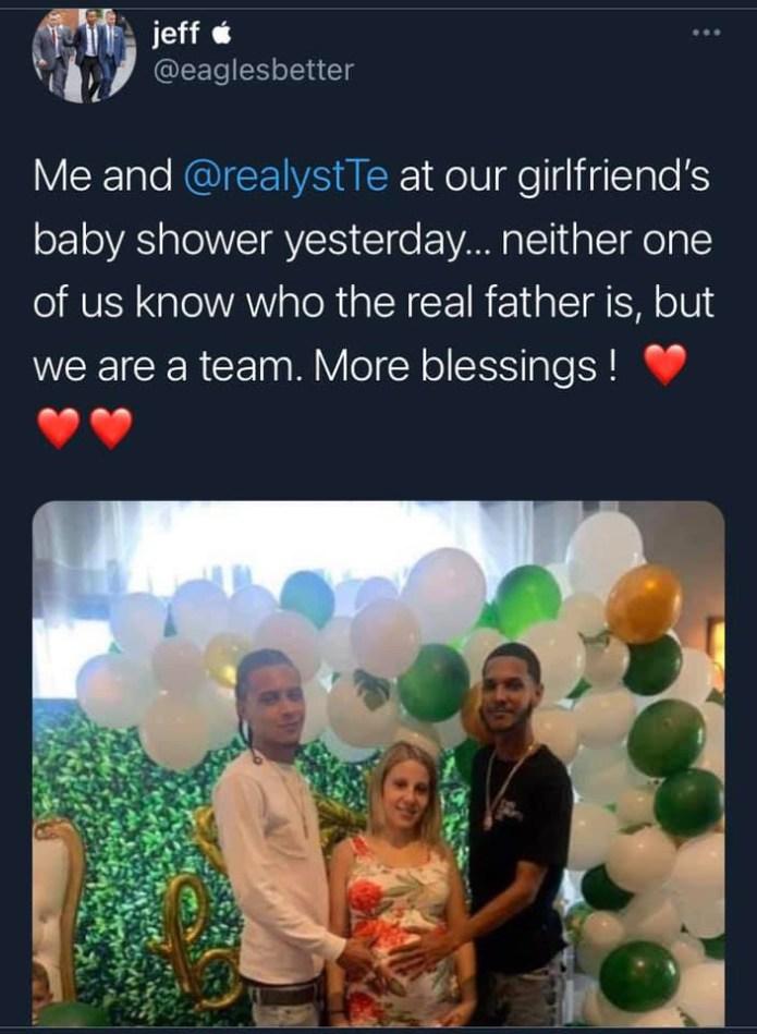 Man shares photo from polyamorous girlfriend