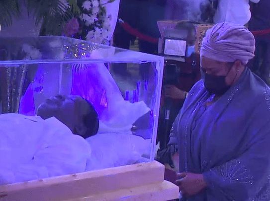 Photos from the Lying-In-State for clergyman, late Prophet TB Joshua