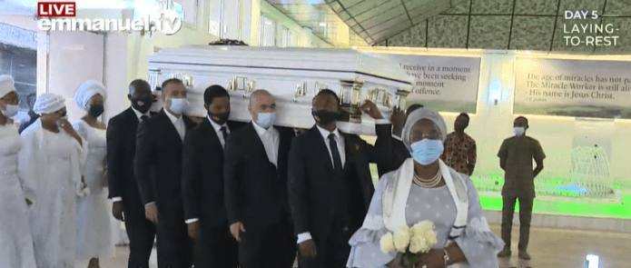 Body of Late Prophet T.B Joshua laid to rest (photos/videos)