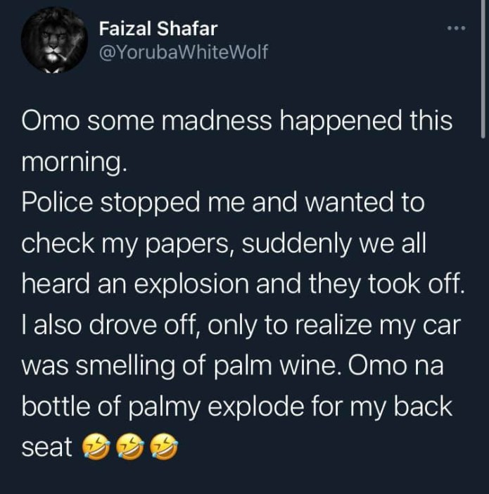 Nigerian man narrates how