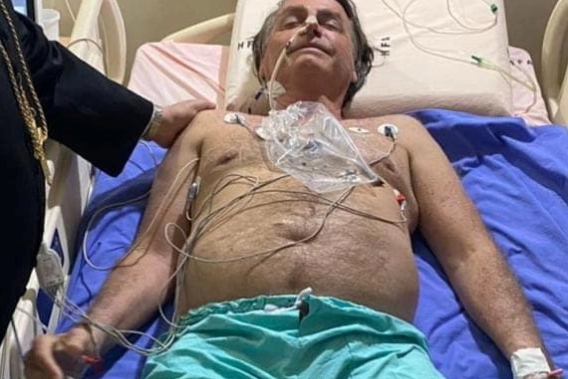 Brazil President, Jair Bolsonaro, in hospital and may need surgery after battling hiccups for 10 days