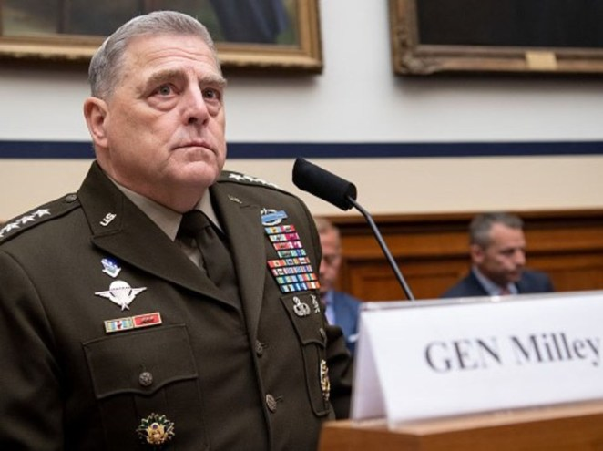 Top US Military generals feared Trump would attempt a coup after the election and planned for ways to stop him, new book reveals