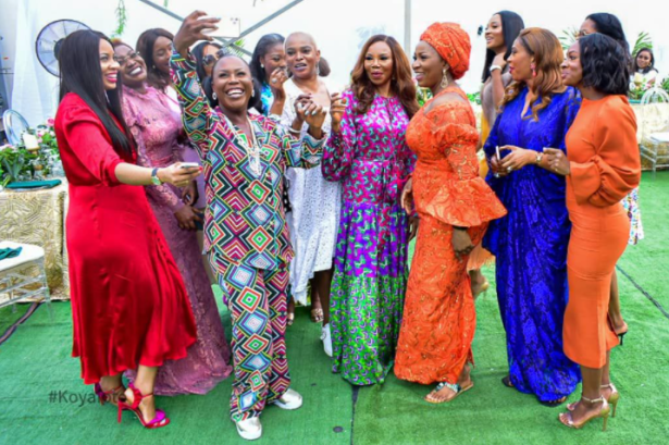 Female leaders and changemakers in different industries meet in Lagos for a relaxed afternoon of networking organized by Betty Irabor