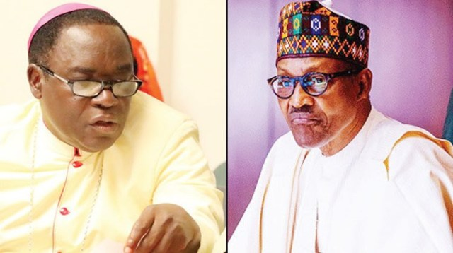 Presidency lambasts Bishop Kukah over comments before US Congress