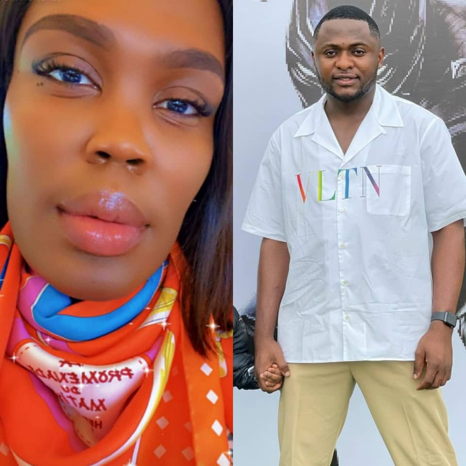 Ubi Franklin drags luxury shopper London Gbajumo for allegedly trolling his child, vows to get her arrested