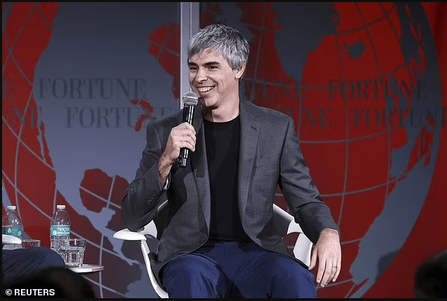 Revealed: Google co-founder, Larry Page