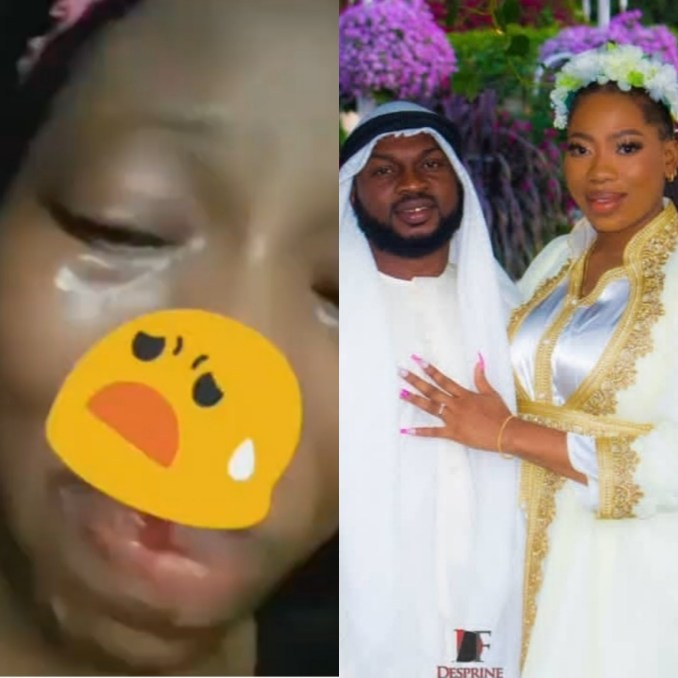Videos of Bolanle crying with a battered face following alleged assault from her estranged husband, Lincon