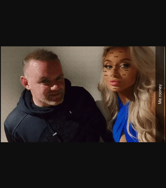 One of the women who took pictures with Wayne Rooney in hotel room gets