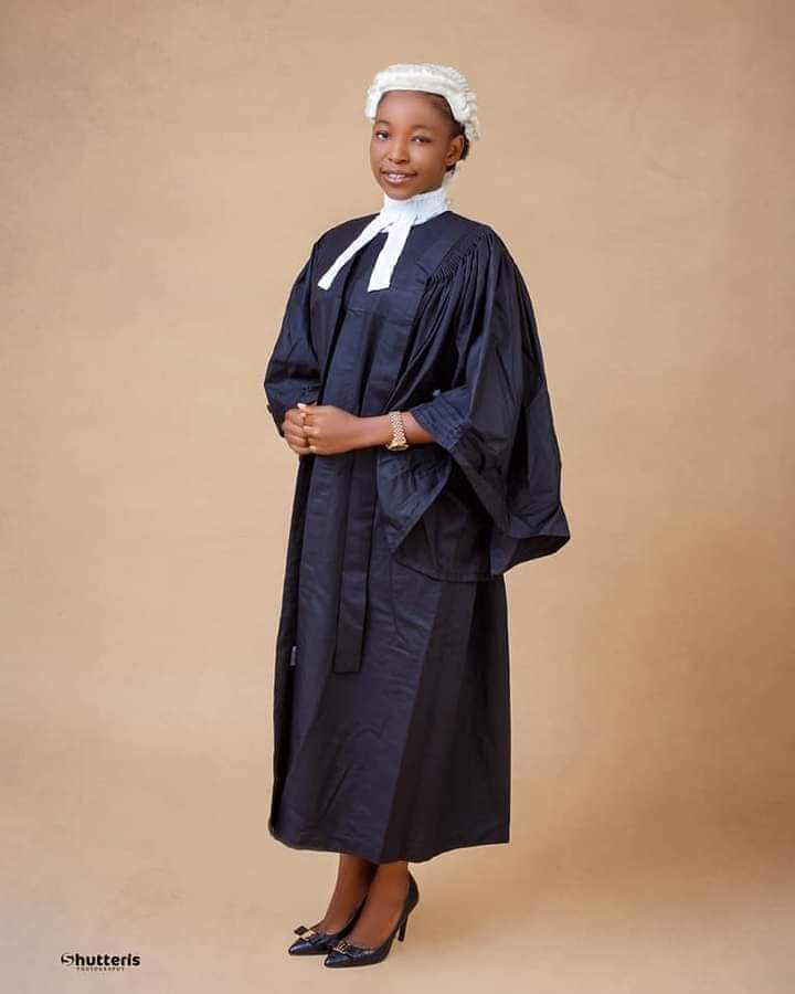 Woman denied admission into Nigerian University for being too young gets called to the bar at 20