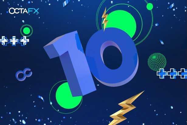 OctaFX Celebratrates Ten Years in Business