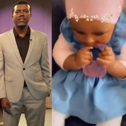 Between Reno Omokri and an IG user who questioned why he gave his daughter an Igbo name