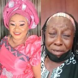 Veteran actress, Patience Ozokwo, breaks down in tears over Rachel Oniga's death