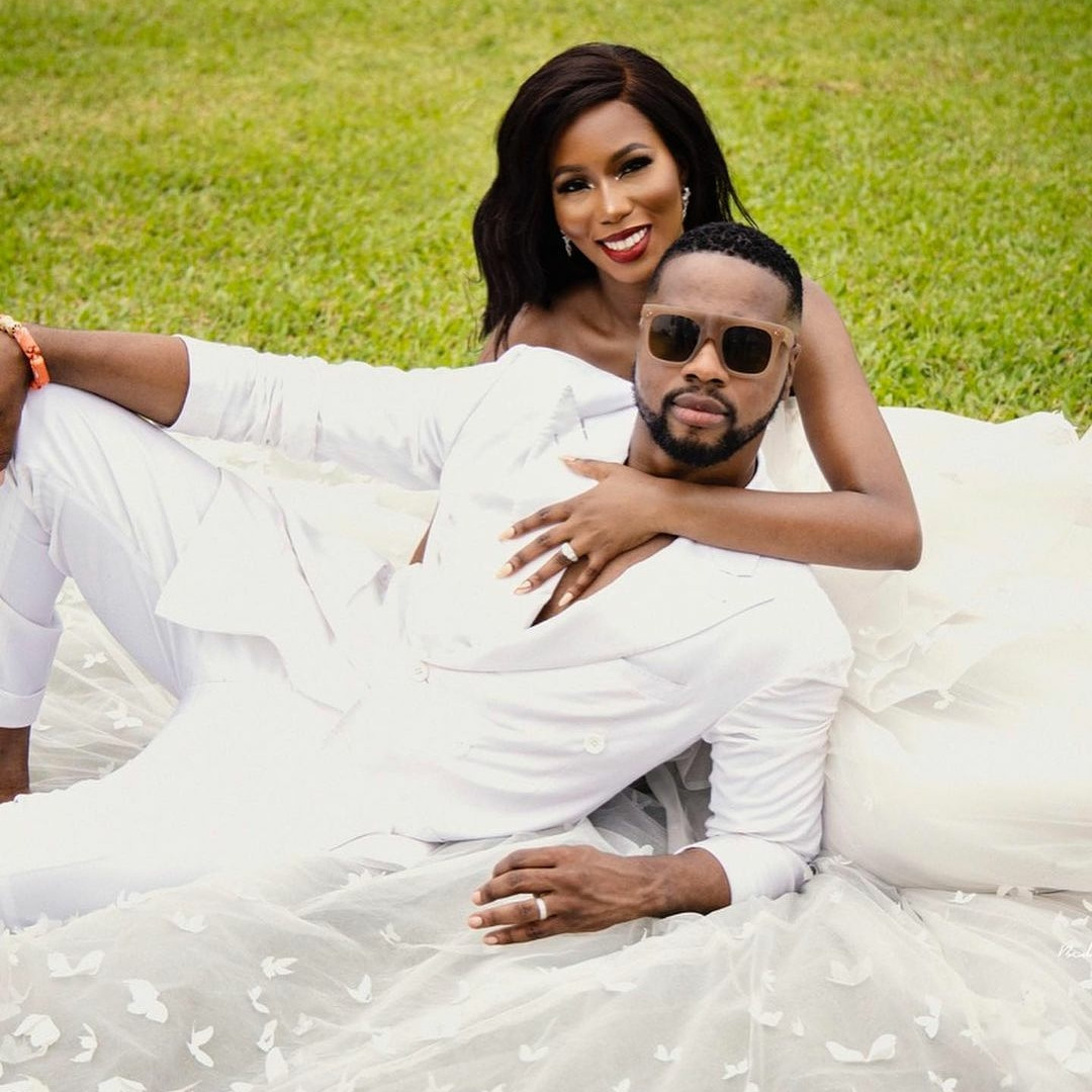 Lovely pre-wedding photos of media practitioner, Debola Williams and his wife, Kenny Daniel