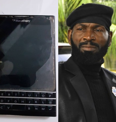 Actor Sylvester Madu reflects on the time he borrowed money to buy a Blackberry passport phone so he can 'belong'